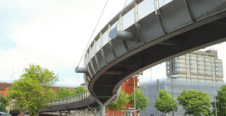 Bourg Walk bespoke bridge