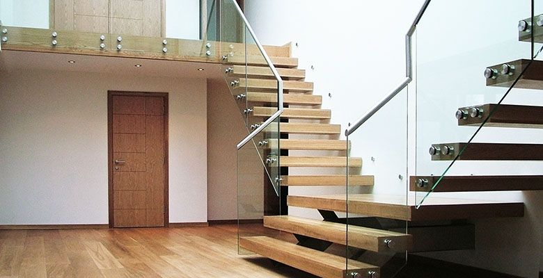 Canal Cantilever Floating Staircase Design D Canal