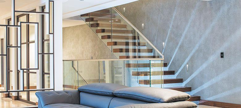 Canal Cantilever Floating Staircase Design