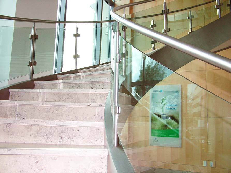 Image result for a glass balustrade is an elegant addition to any property