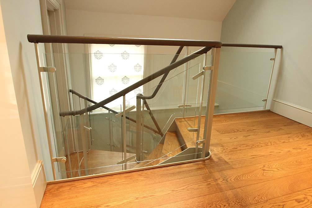 Arkwright glass balustrade