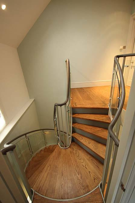 Arkwright modern stairs