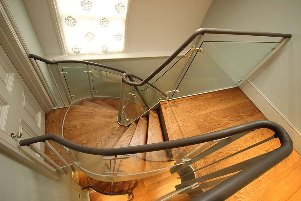 Arkwright spiral staircase