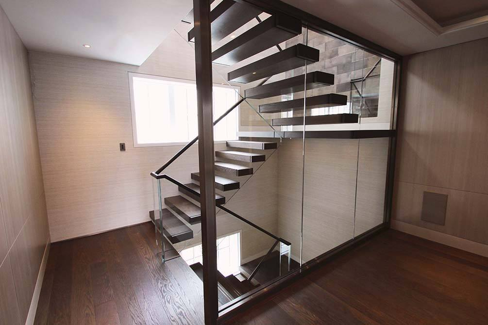 Cantilever Staircase Floating Stairs Construction