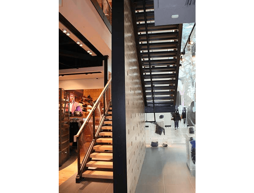 straight staircase