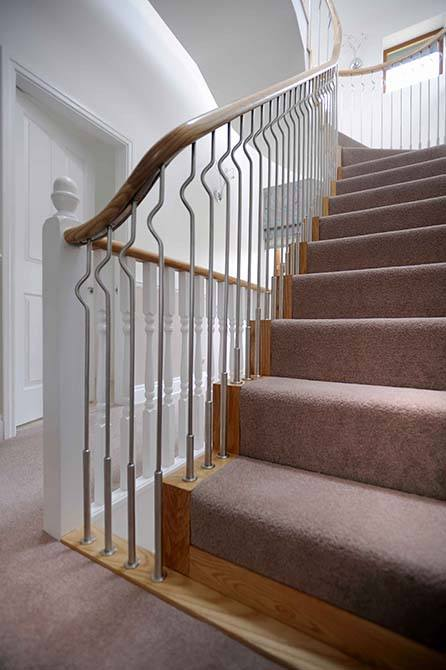 Ash-straight-staircase