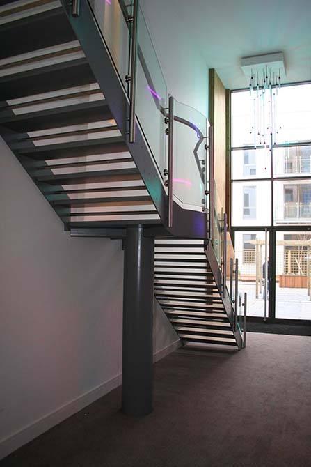 Battersea-steel-metal-stair