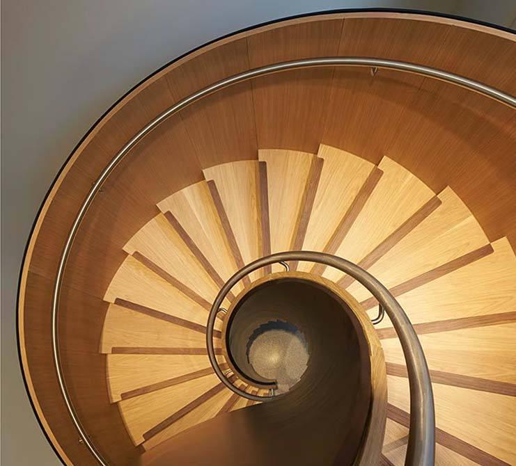 Bonhams: Customised Helical Staircase