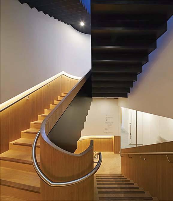 Bonhams metal steel staircase