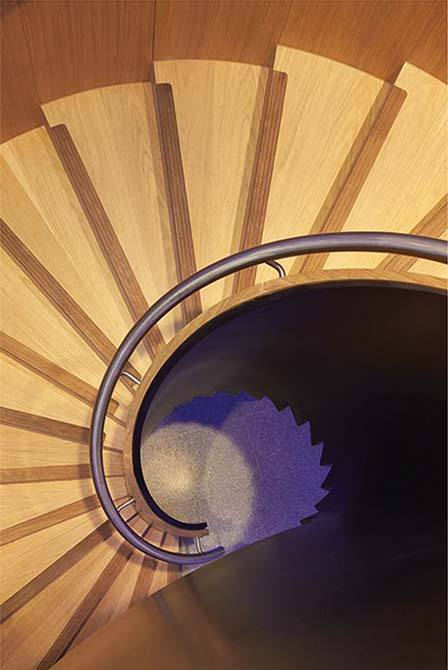Bonhams spiral staircase