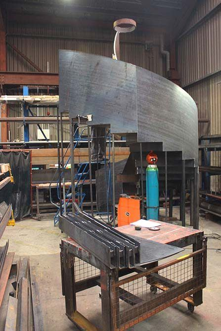 Bonhams: Customised Helical Staircase Manufacturing