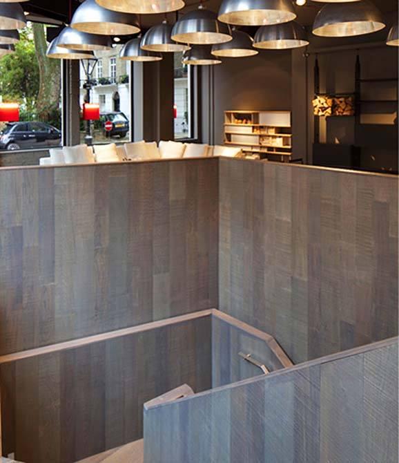 Cassina stainless steel handrail