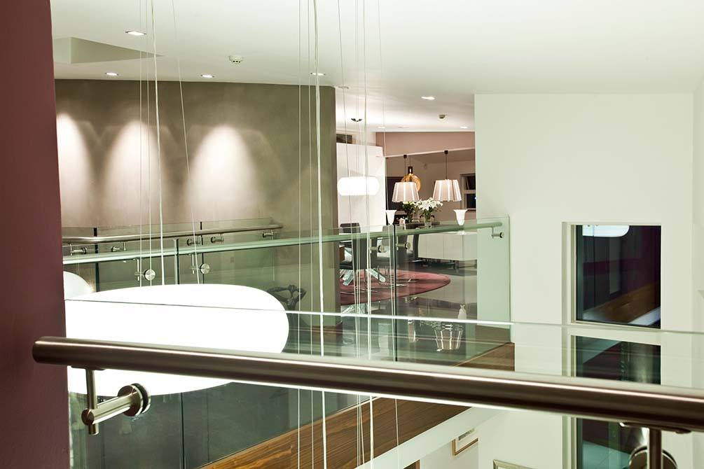 Cliff stainless steel handrail
