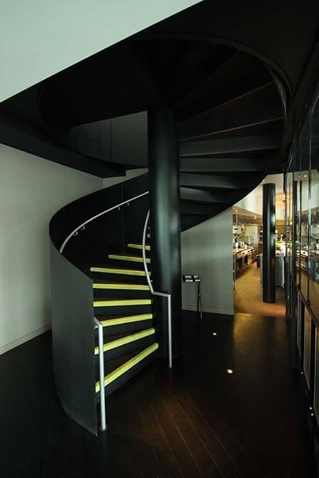 dandd metal sprayed staircase