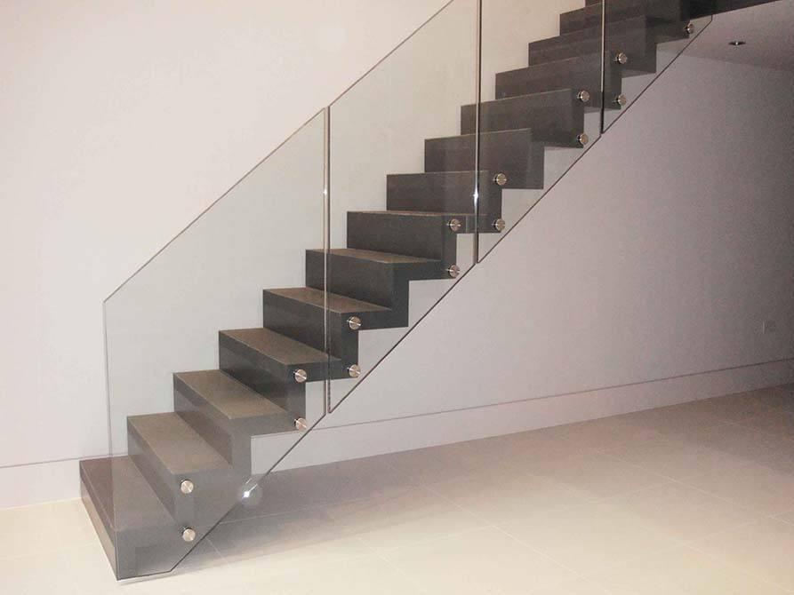 Ferguson glass steel staircase