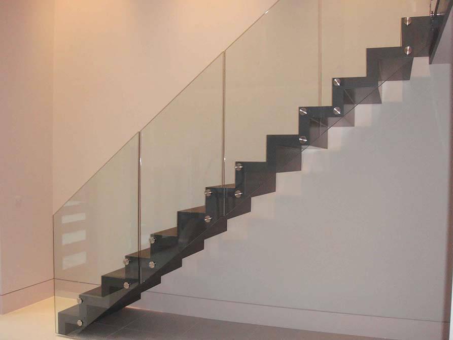 Ferguson steel folded stair