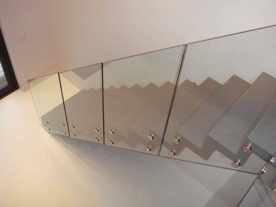 Ferguson steel folded staircase