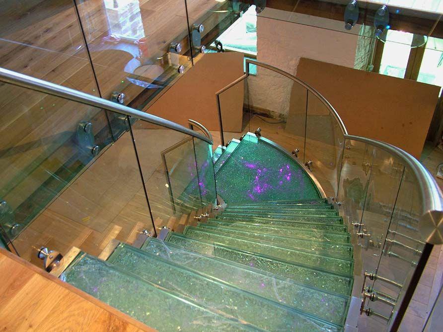 Flint contemporary staircase