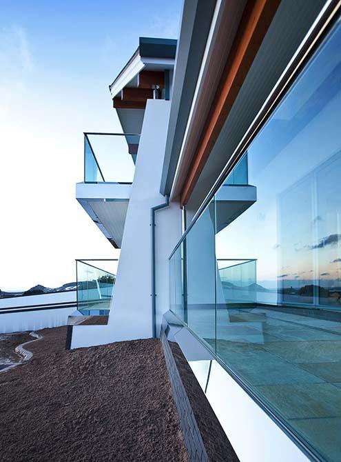 Floreal glass balustrades
