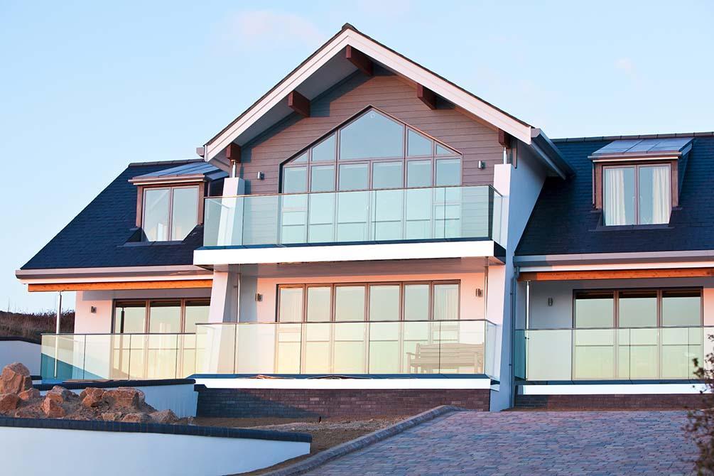 Floreal stainless steel balconies