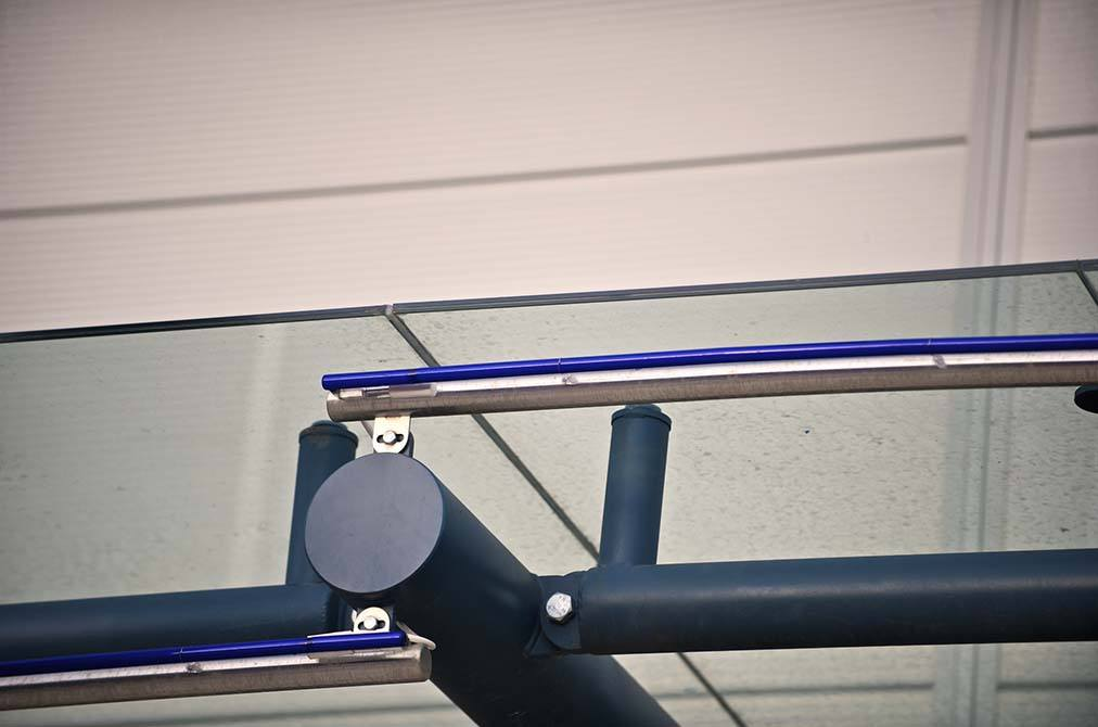Gallagher steel canopy