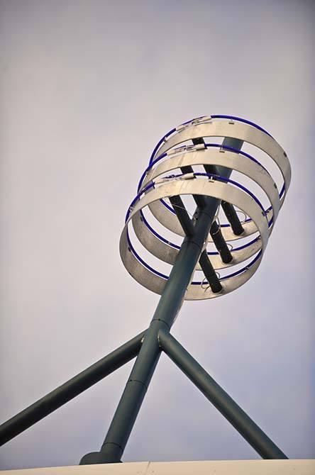 Gallagher steel sculpture