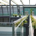 Gatwick contemporary balustrade