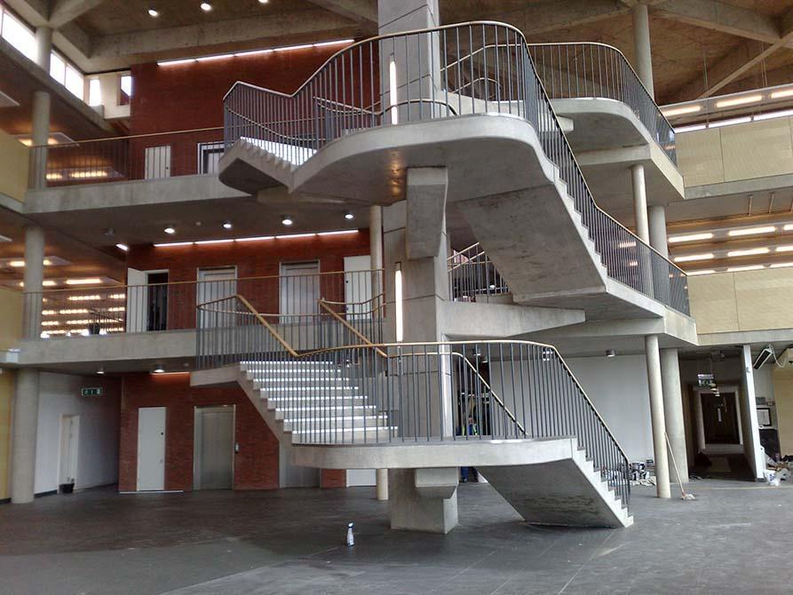Hanson architectural balustrade handrail
