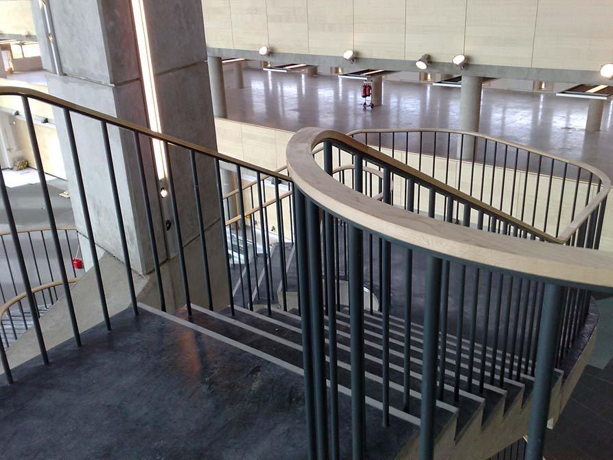 Hanson metal balustrade