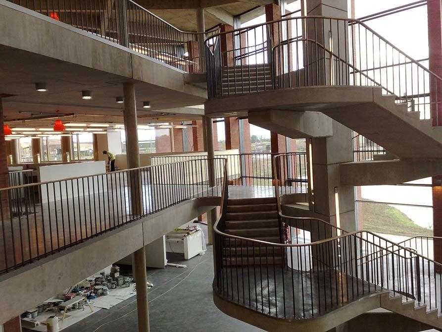 Hanson steel spindal balustrade