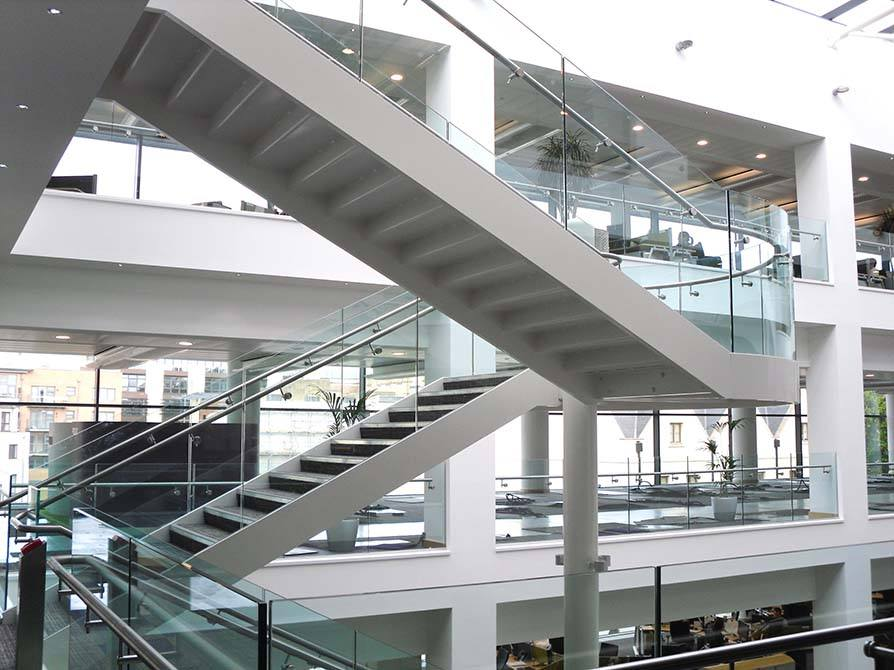 Harbourside commercial staircase