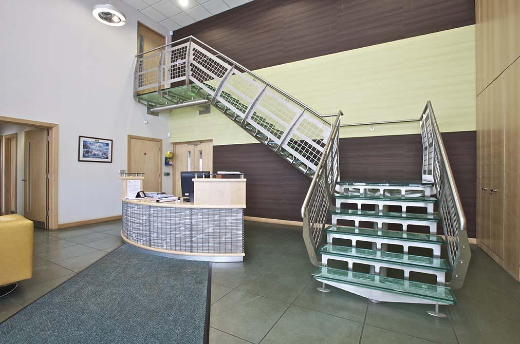 hesco contemporary stairs