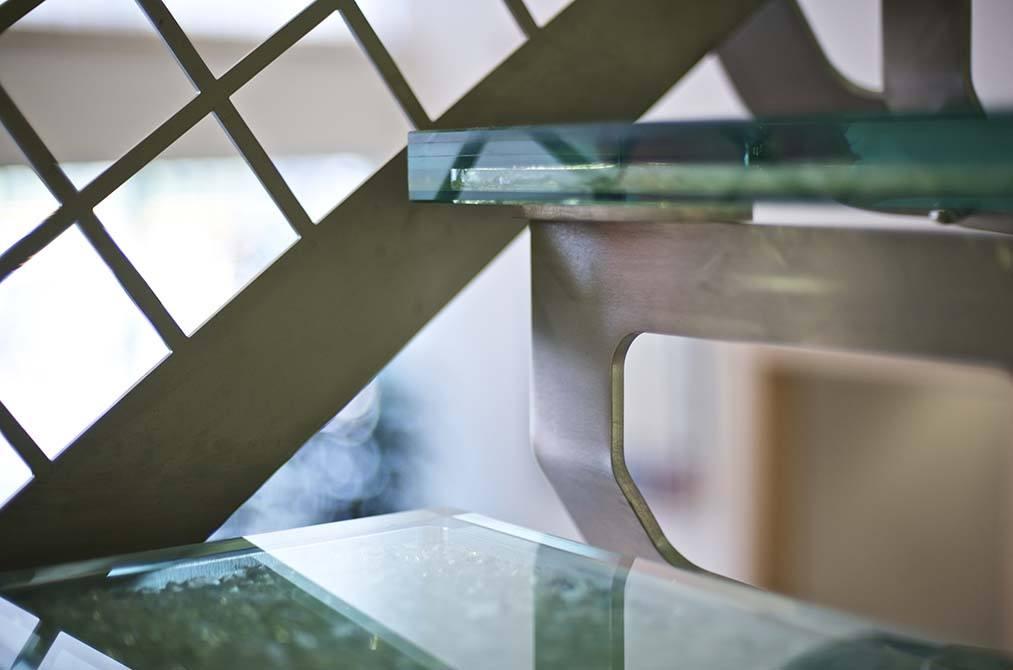 Hesco stainless steel balustrade