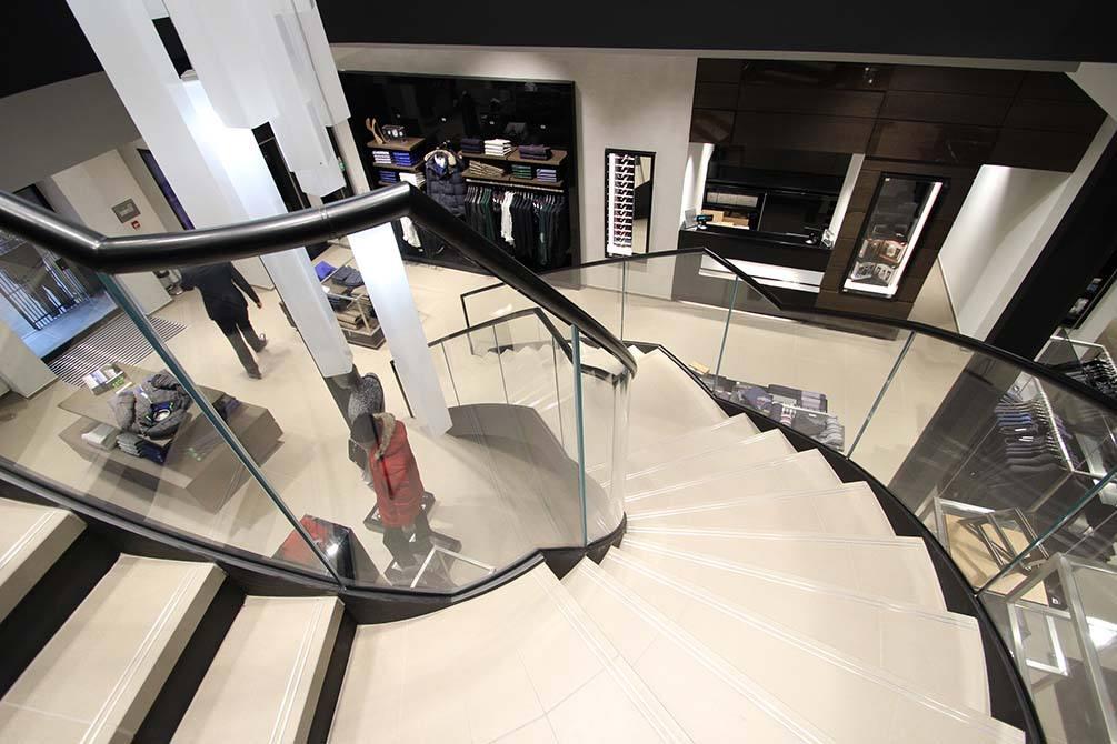Hugo Boss Nottingham Modern Staircase