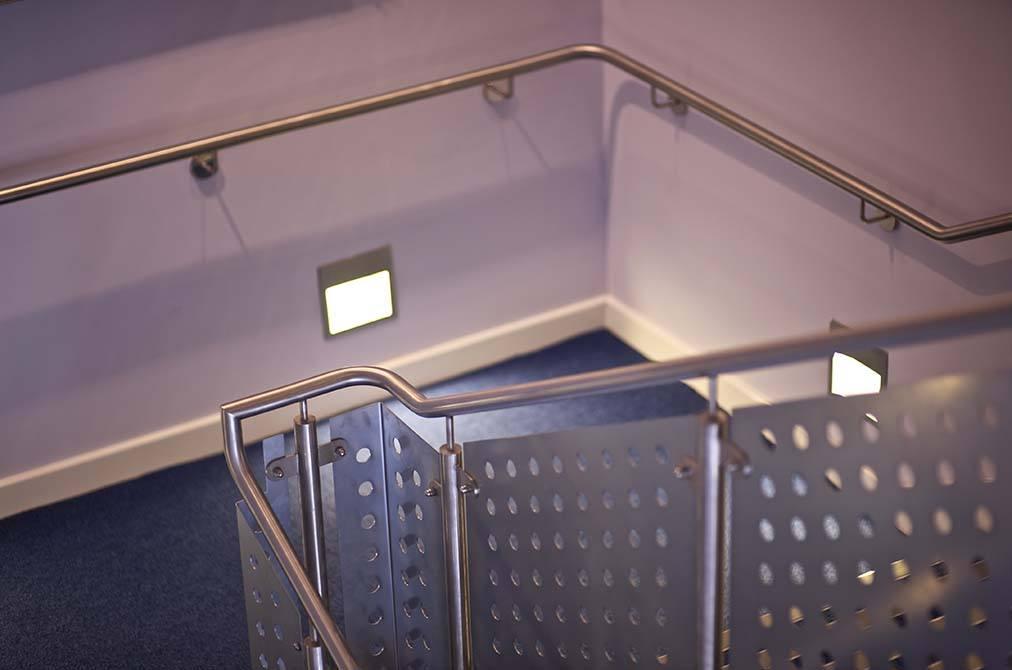 JJB stainless steel balustrade stair