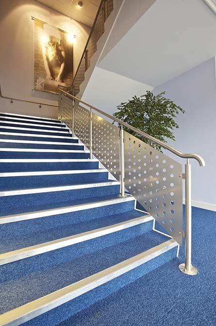 JJB stainless steel staircase balustrade