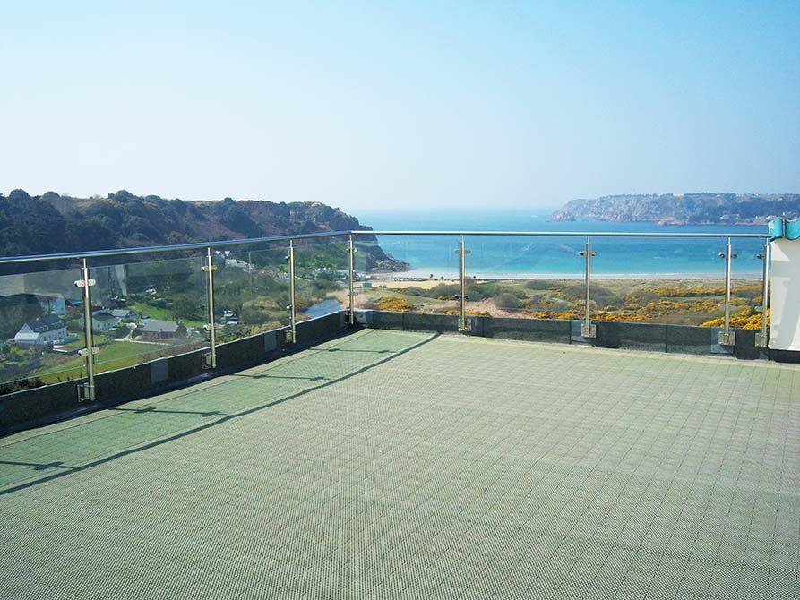 Jersey contemporary balustrade
