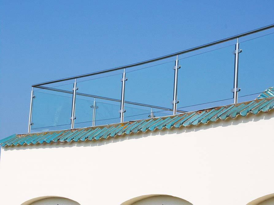 Jersey stainless steel balustrade
