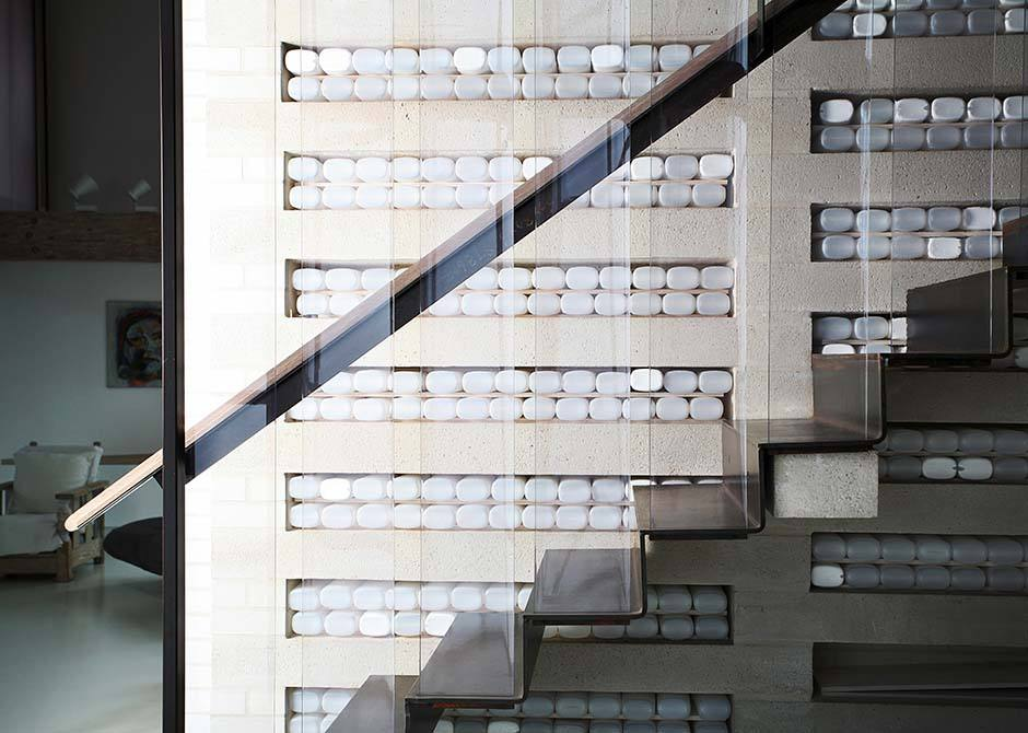 Meat Factory steel staircase
