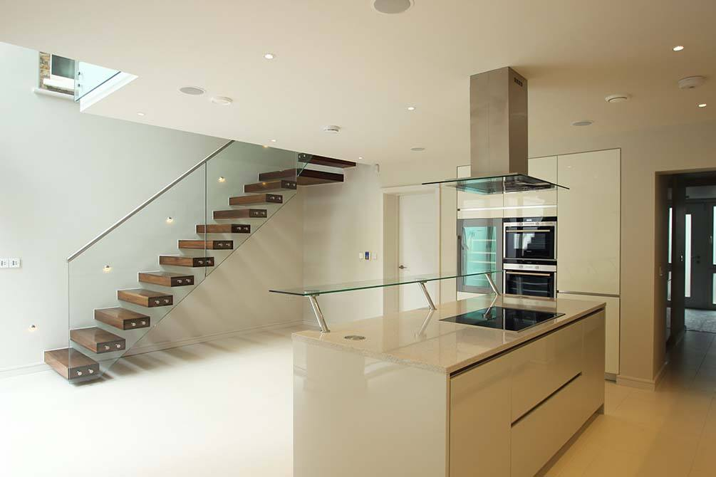 Montague floating staircase
