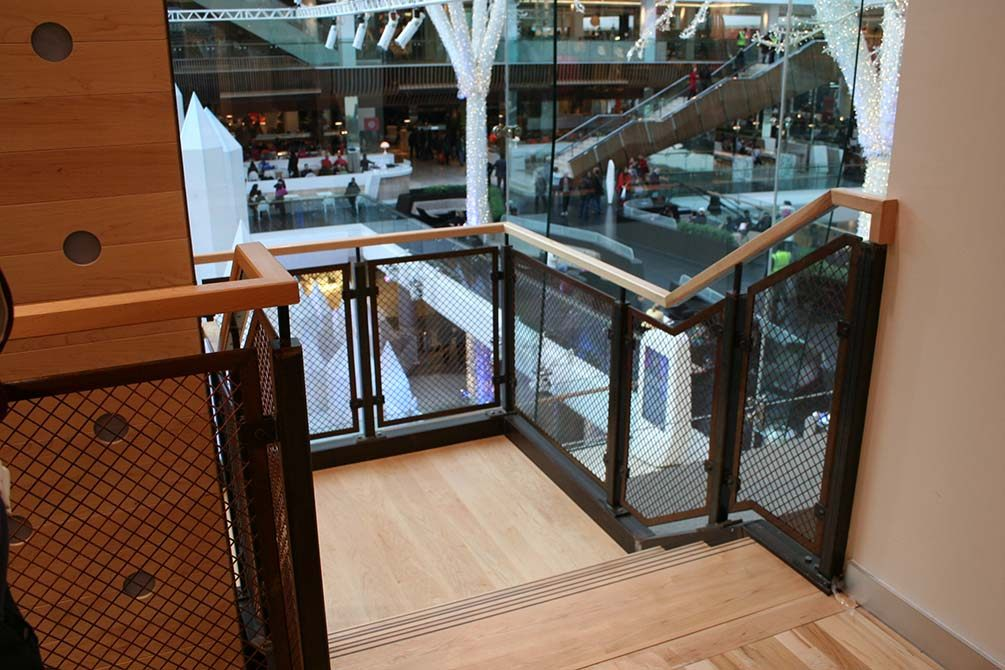 Nike contemporary handrails