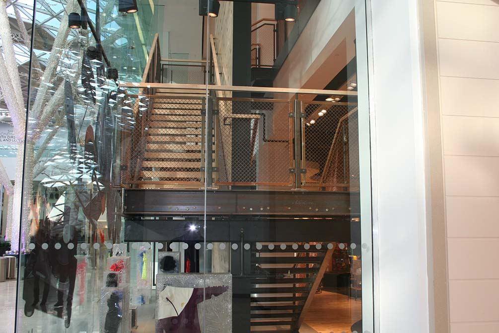 Nike designer staircases