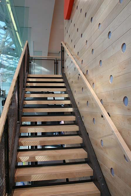 Nike westfield commercial staircase