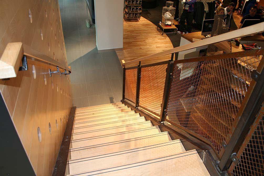 Nike westfield custom staircase