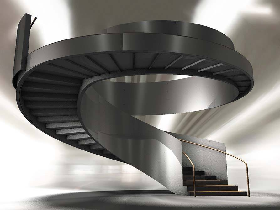 Ogier Drawing bespoke concept stair