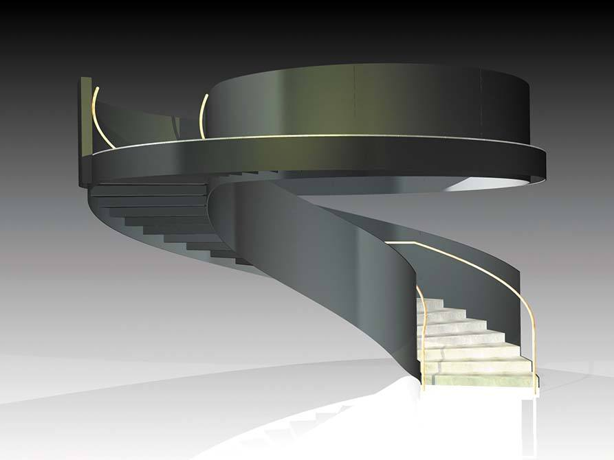 Ogier Drawing concept staircase