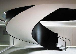 Ogier bespoke helical staircase
