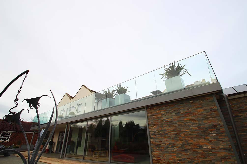 Bespoke Terrace Balustrades