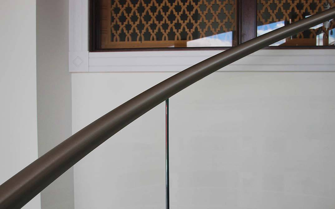 Parliament view stainless steel handrails
