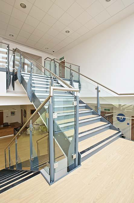 Queens-Medical-commercial-staircase